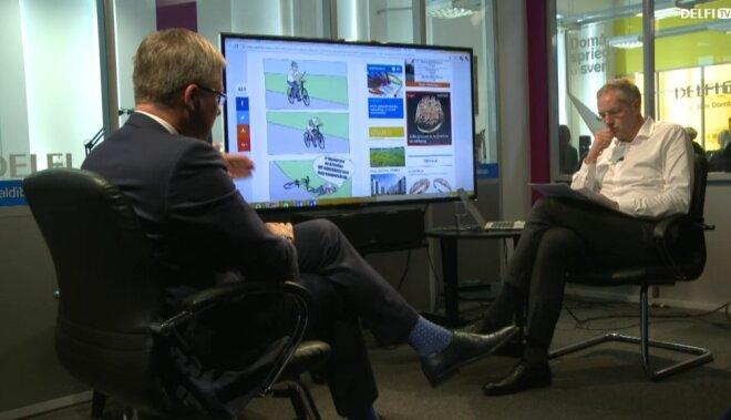 Нил Ушаков в интервью на Delfi TV: о трагедии в Золитуде, признании оккупации и планах в Риге