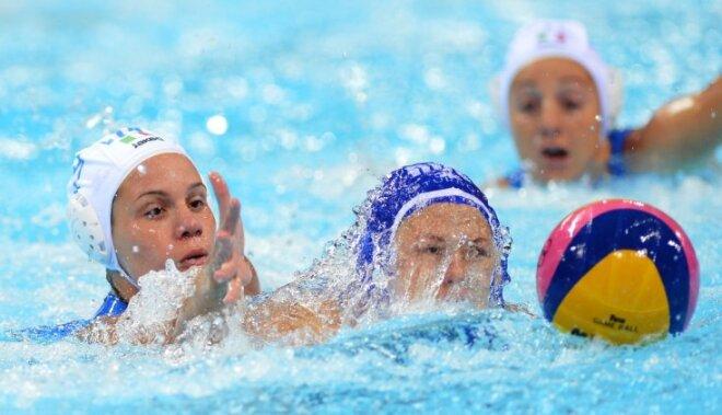 XXX Vasaras olimpisko spēļu sieviešu ūdenspolo turnīra rezultāti (01.08.2012)