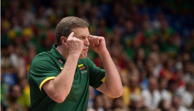 Adomaitis paliks Lietuvas basketbola izlases galvenā trenera amatā