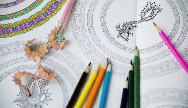 Mandalas prāta treniņam un atpūtai – kā izprast sevi pēc krāsām