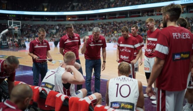 Тренер: В матче против Сербии Латвии нужно использовать свою скорость