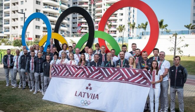 Riodežaneiro olimpisko spēļu atklāšanas ceremonijā piedalīsies 21 Latvijas olimpietis
