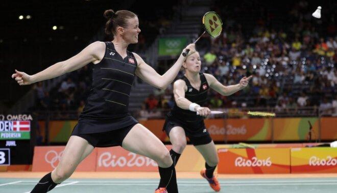 Riodežaneiro vasaras olimpisko spēļu rezultāti badmintonā (18.08.2016)