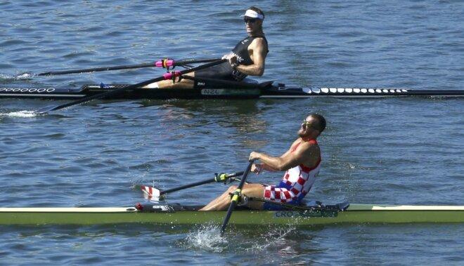 ASV un Lielbritānija tiek pie pēdējām zelta medaļām airēšanā