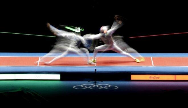 Riodežaneiro vasaras olimpisko spēļu rezultāti paukošanā ar floreti komandām (12.08.2016)