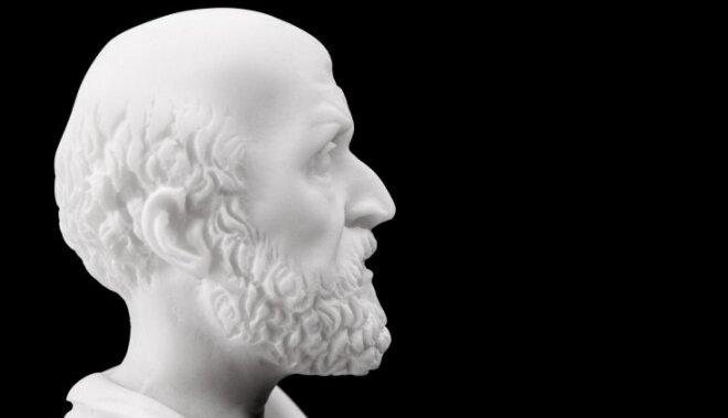 Hipokrāts – mediķu vai dziedinātāju tēvs?