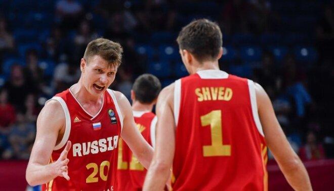 Krievija no 'Eurobasket 2017' izslēdz medaļu pretendenti Horvātiju
