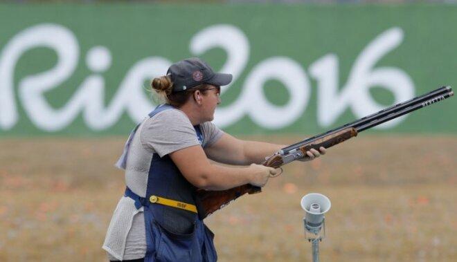 Riodežaneiro vasaras olimpisko spēļu rezultāti stenda šaušanā sievietēm apaļajā stendā (12.08.2016)