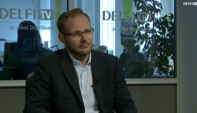 ВИДЕО. Интервью на Delfi TV: Янис Домбурс vs Никита Никифоров