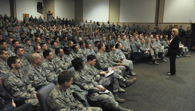 ASV aviobāzē par atomieročiem atbildīgie virsnieki norakstījuši kvalifikācijas eksāmenos