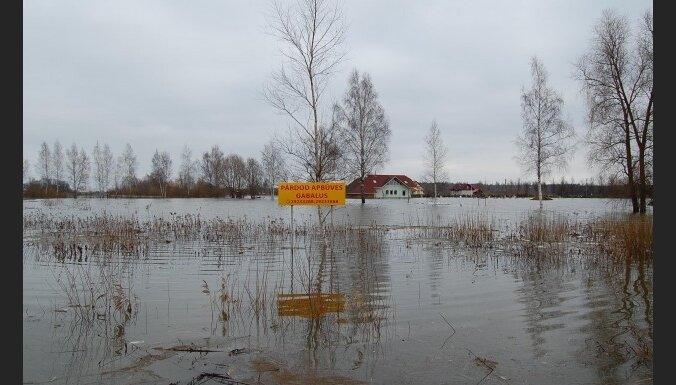 """Фото очевидцев: """"новые районы"""" в Елгаве"""