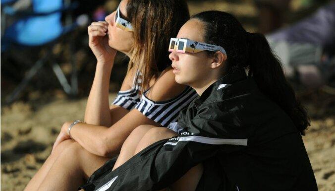 В Австралии две минуты наблюдали полное солнечное затмение