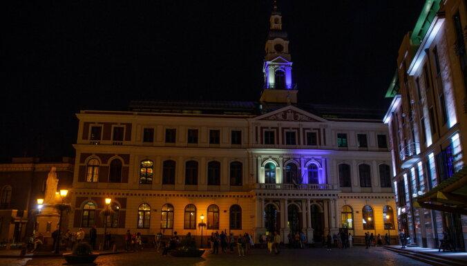 В Риге подсветят Ратушу в честь дня независимости Эстонии