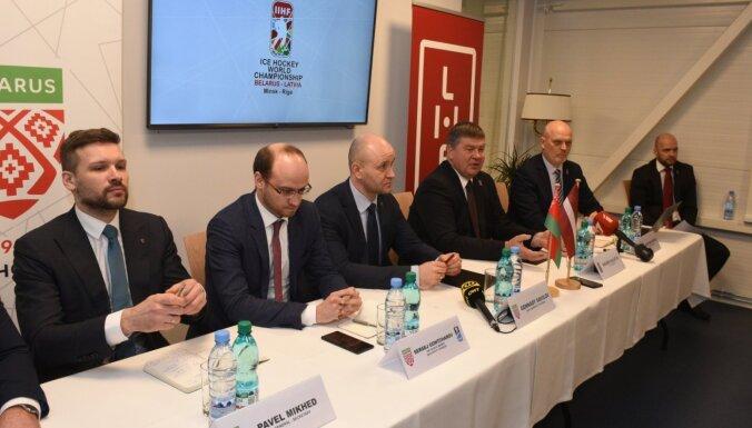 Baltkrievijas puse neizskata iespēju pārcelt Rīgā un Minskā gaidāmo čempionātu hokejā