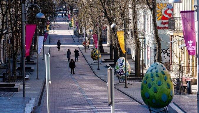 Foto: Daugavpils izgreznojusies par godu Lieldienām