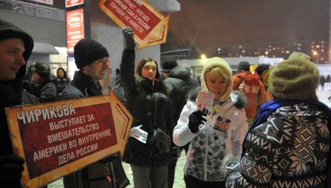 Krievijā sestdien mītiņos gan protestēs pret Putinu, gan atbalstīs varu