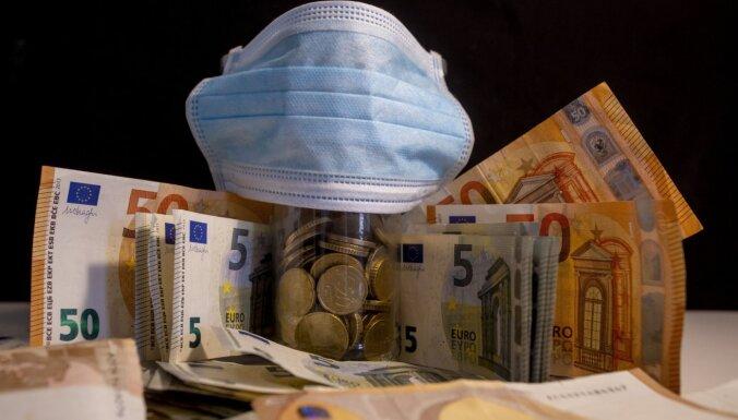 Экономика Латвии из-за коронавирусных ограничений каждый месяц теряет 100 млн евро