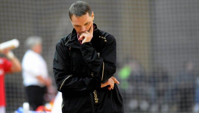 Latvijas handbola izlases galvenais treneris Labanovskis: šādā līmenī kļūdas nepiedod