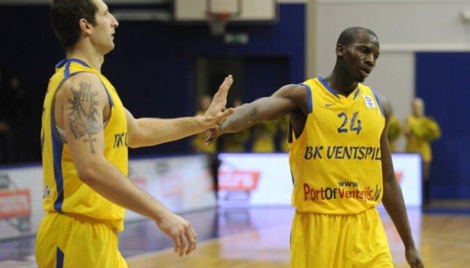 'Ventspils' basketbolistiem zaudējums pagarinājumā Baltijas līgā