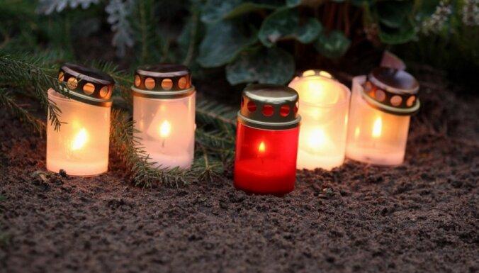 25 ноября в Латвии вспоминали усопших