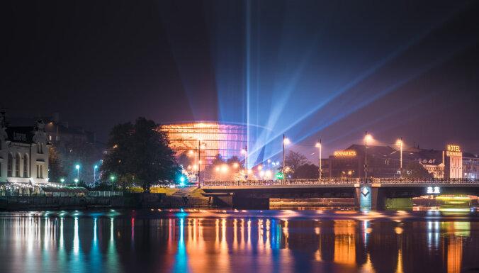 Oktobrī Liepājā iemirdzēsies gaismas objektu maršruts