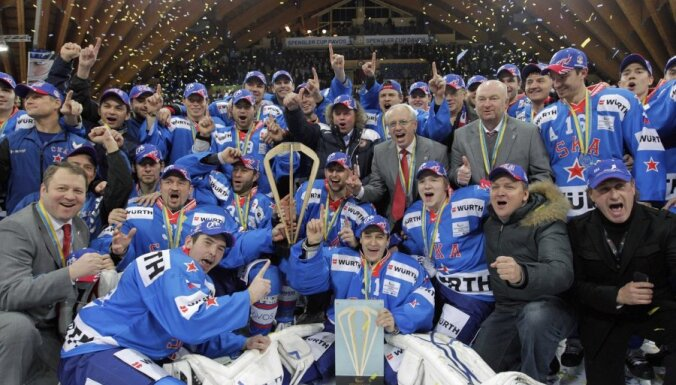Клуб КХЛ третий раз подряд берет Кубок Шпенглера