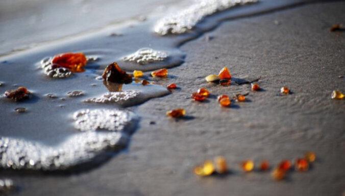 В Лиепае и окрестностях на берегу моря снова найден опасный ложный янтарь