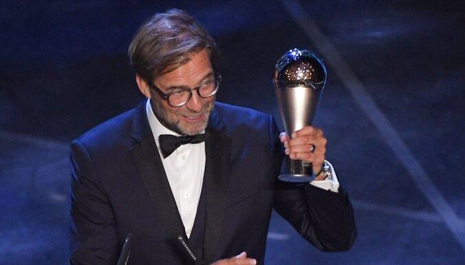 Visi Latvijas futbola pārstāvji FIFA balsojumā labākā trenera godu atvēlējuši Klopam