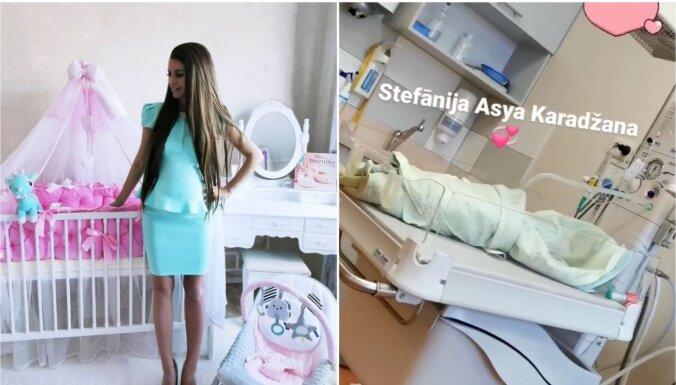 Piedzimusi efektīgās TV šovu veterānes Jeļenas meitiņa