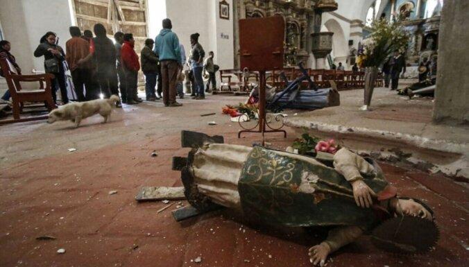 Foto: Zemestrīcē Peru vismaz četri bojāgājušie