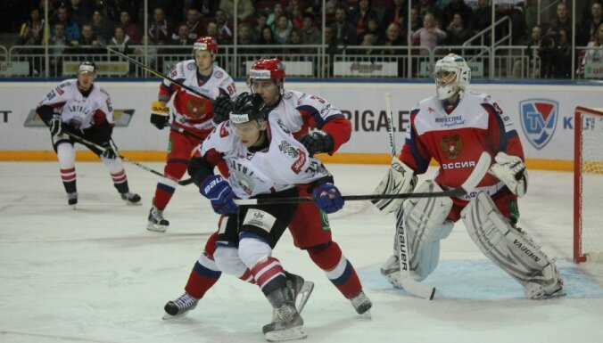 Сборная Латвии по хоккею обыграла сборную Россия-2