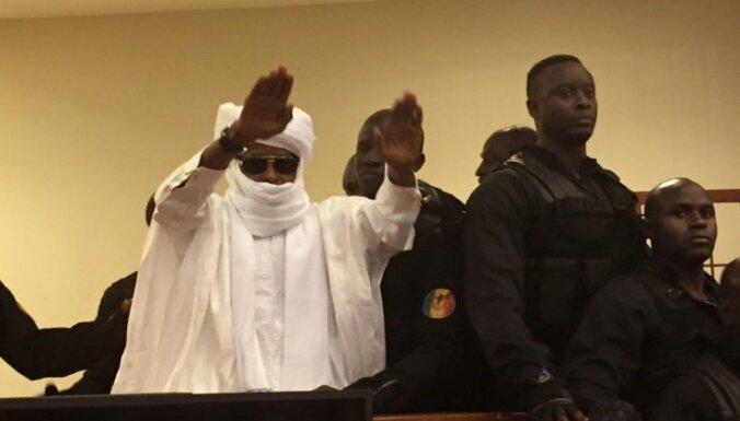 Čadas eksdiktatoram Habrem par noziegumiem pret cilvēci piespriests mūža ieslodzījums