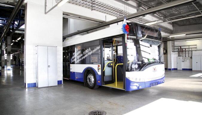 Rīgas satiksme заложило еще 15 автобусов Solaris Urbino