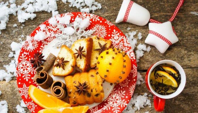Cukurotas mandeles, marcipāna zvaigznītes un citi kārumi svētku brīvdienām