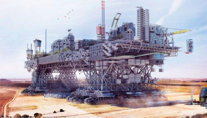Испанский архитектор представил шагающий мегаполис будущего