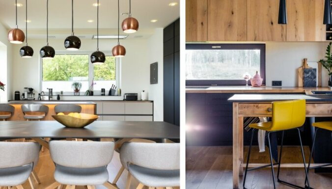 Foto: Kā izskatās divas Igaunijā stilīgākās virtuves