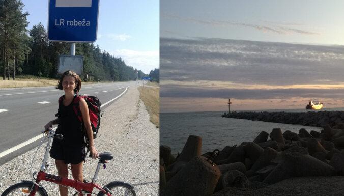 Neliela mēroga 'Tour de France' jeb Inas ceļojums uz brīnumaino Nidu