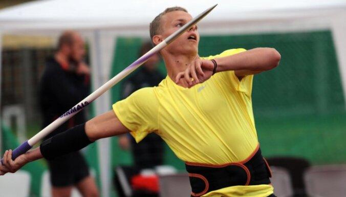 Šķēpmetēji Sirmais un Mūze izcīna medaļas sacensībās Somijā