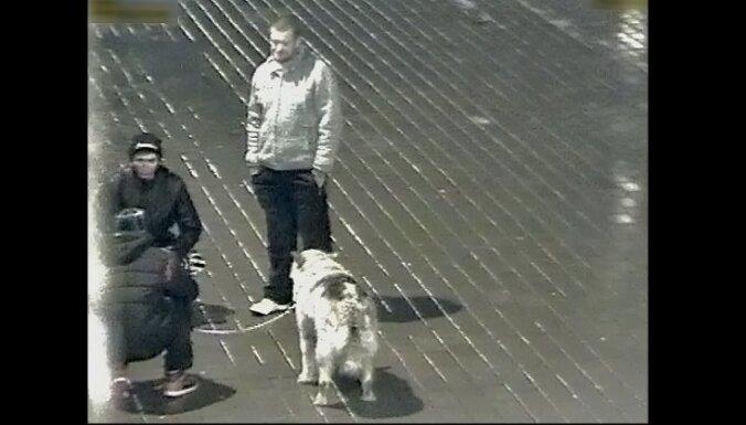 Policisti meklē suņa nolaupītājus