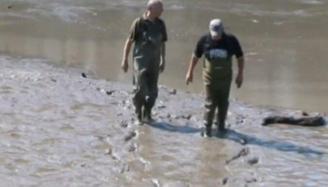 Meklējot plēsīgu bruņurupuci, Vācijā nosusina ezeru