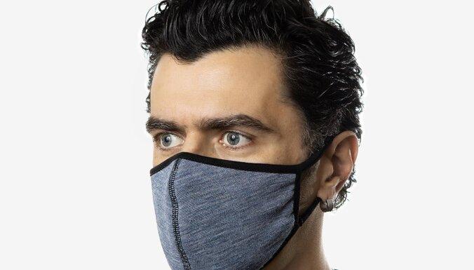 В Латвии производят многоразовые маски для лица, которые уменьшают количество вирусов группы А на 96%