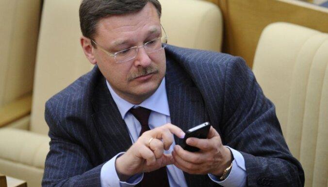 Константин Косачев: Латвия выйдет из еврозоны