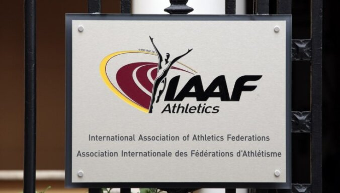 IAAF vēlreiz nolemj paturēt spēkā Krievijas diskvalifikāciju