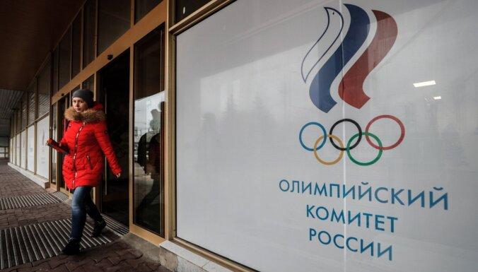 Krievija saņem bargu sodu par masveida dopinga pārkāpumiem (plkst. 14:00)
