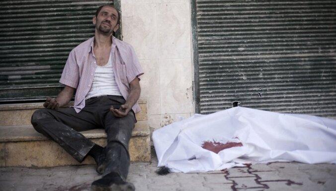 NVO: nemieros Sīrijā bojāgājušo skaits pārsniedz 31 tūkstoti