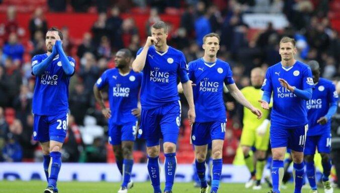 Lesteras 'City' vēl neizcīna Anglijas premjerlīgas čempionu titulu