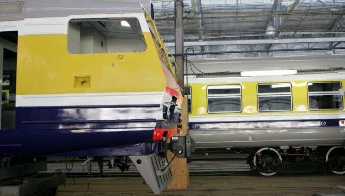 Izsolē pārdoti 100% 'Rīgas vagonbūves rūpnīcas' akciju