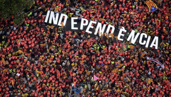 Сепаратисты в Каталонии надеются победить на выборах в парламент