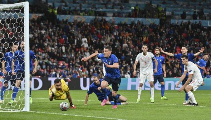 Одолели по пенальти: Италия обыграла Испанию в первом полуфинале ЕВРО-2020