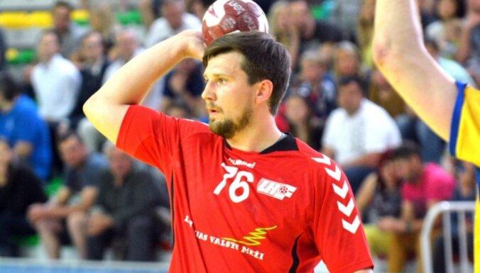 Latvijas handbolisti gūst pārliecinošu uzvaru IHF attīstības turnīra otrajā mačā